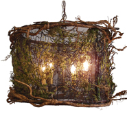 Canopy mossy drum small